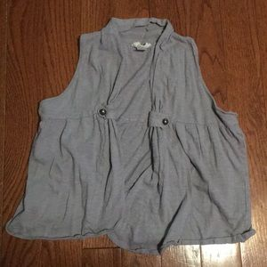 Open cotton vest